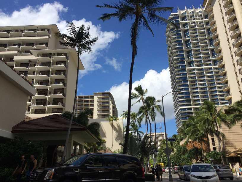 ハワイのワイキキでナンパ一期一会