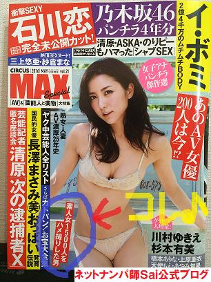 【出会いアプリ取材No79-1】CIRCUS MAXスペシャル 2016/5月増刊号