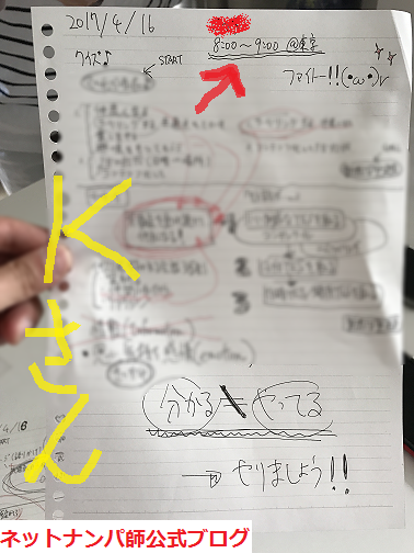 ネットナンパのコツと方法、モテる男の習慣!03
